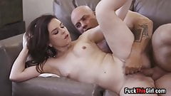 Really Hot Brunette Gets Her Pussy Pounded