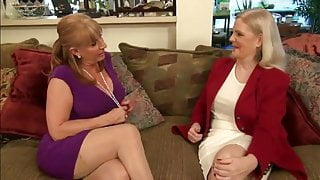 two hot lesbi-stepmoms