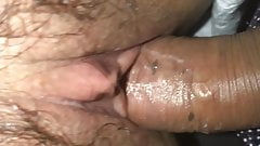 Tight wet asian Chinese pussy close up