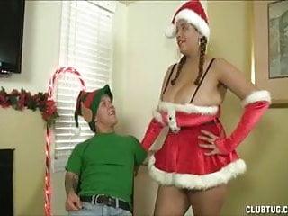 Xxx santa girls - Santa girl handjob