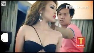 FIlipina goddesses get strip for shoot