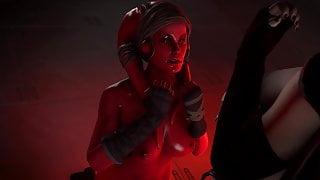 Dark Rey And A Twi'lek