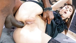 LETSDOEIT - BBC Anal Punishment For Sexy Teen Babe Lina Luxa