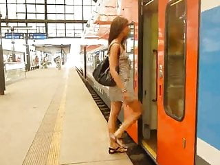 Escort caprice - Caprice on a train