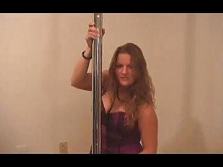 Teen corset - Purple corset chubby bbw ex girlfriend pole dance