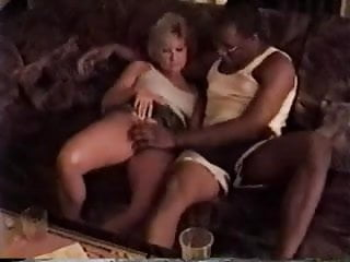 Blonde fuck interracial - Young black stud fucks older blonde wife