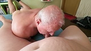 Blowing with friend part 2
