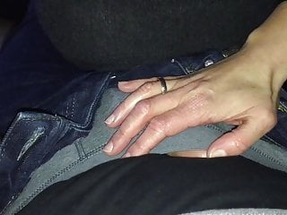Uncut dildo with foreskin Milf handjob surprise foreskin play no cum
