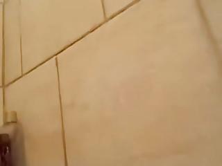 Hot ebony teen with big tits - Hot ebony teen takes a bath