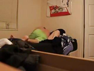 Chubby teen in dorm room fucking Blonde coed fucked in dorm room on hidden camera
