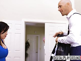Johnnie black porn star Digitalplayground - maid service with johnny sins luna star