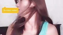 Lil brown nipple flash
