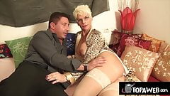 the operated trans Sonia Rey gets fucked hard