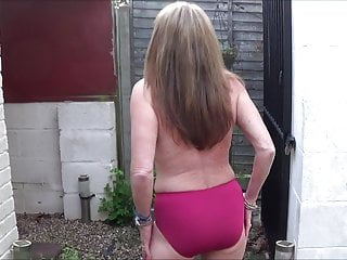 Back allies of the strip - Full back knickers morning strip