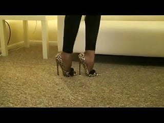 Extreme foot fetish 7inch extrem heels