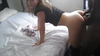 Watching Girlfriend take Black Dick