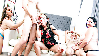 One blessed Sunday orgy