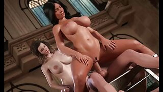 TREASURE OF NADIA - HUGE SQUIRT WHILE RIDING
