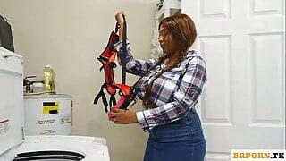 Strap-On To The Dildo Dryer With Rachel Raxxx, Vina Sky