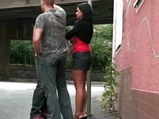 Nudity group sex - Group sex in the street in public part 1