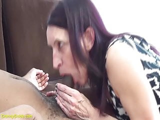 First big cock for granny - 69 years old mom first interracial
