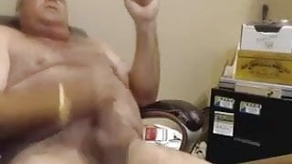 Daddy Plays Naked on Webcam