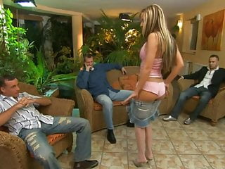Ni as virgenes xxx Ni 3-5 - gangbang for blonde girl in stockings