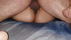 Wife cum filled again
