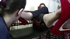 New Red Heel