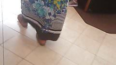 Africa booty massive BBW in dress