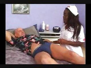 Spanked cc - Ebony anal nurse....cc