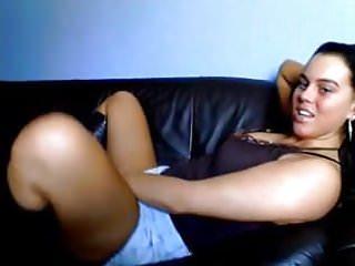 Brunette dildo teen - Amateur - hot brunette dildo on webcam