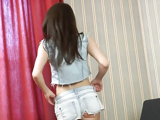 Hot panty girl masturbation Hot teen pussy in panties
