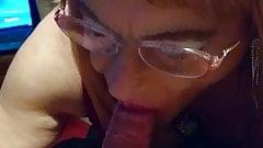 sexysusang sucking cock deep