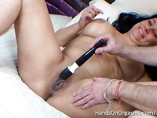 Masturbation addiction treatment Curvy british milf enjoys hands on orgasm treatment
