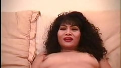 Mature Asian does it all