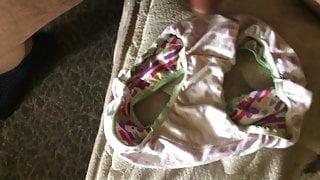 cummin in my daughter's friends panties