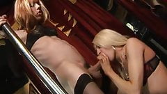 2 trannies playing