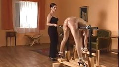 Two Beauties Caned HARD!