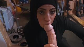 Sexy Arab Sucks His Dick