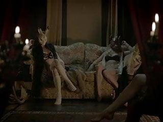 Modeling agency glamour lingerie - Lovely head - music video masks glamour lingerie