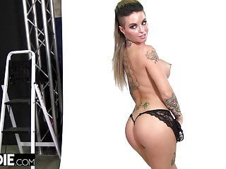 Lingerie photographs Christy mack fucks the photographer at audition