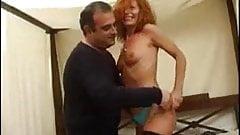 Mature redhead fucking like mad