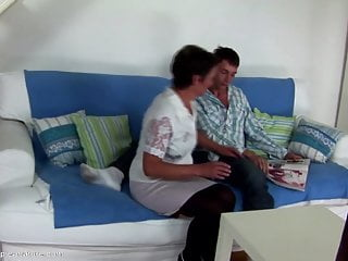 Black grannie vaginas free Seduced son cums inside not his moms vagina