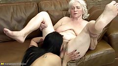 Grannies do it better insane lesbian sex