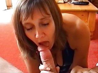 Spanked in pvc - Big tits blowjob in pvc