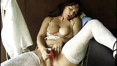 Horny Mom Gena Needs Those Papers