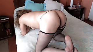 My wife showing her wonderful ass in front of her boss, fuck