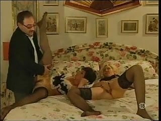 Lingerie wives pics - Two mature french wives in lingerie want cock