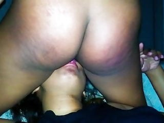 Lesbian lactacting suck Down under sucking a phat black pussy